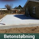 Støbning af beton Svendborg